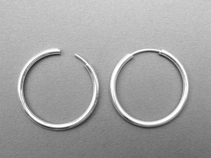 Hoop Earrings 925
